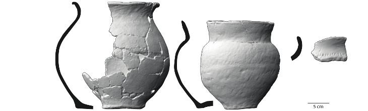 Ceramics from ROJ-11, feature 165 (Tolksdorf et al. 2017)